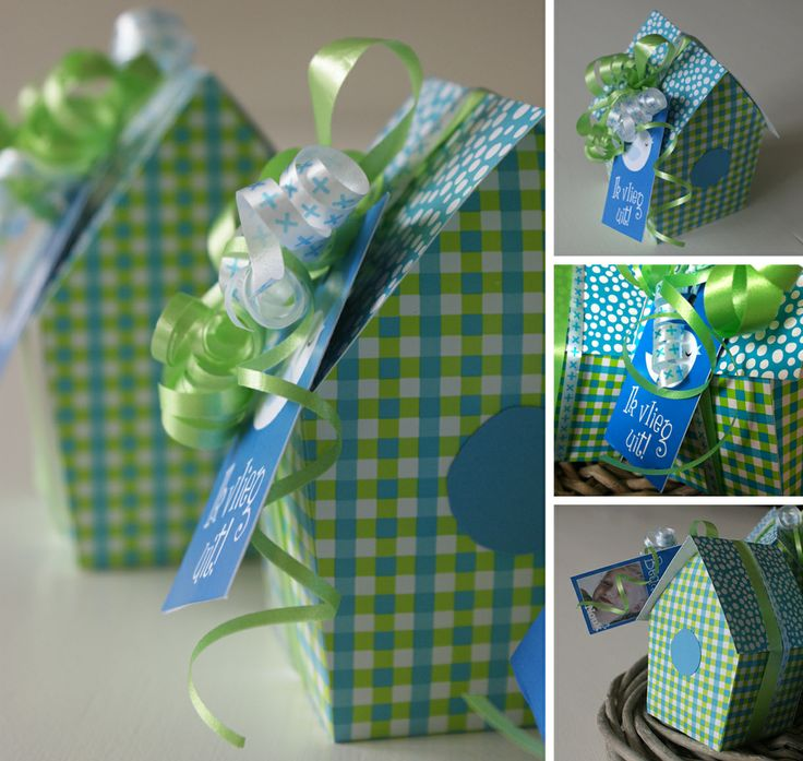 thank you presents for the teachers of the playgroup filled with chocolate easter eggs.  Pattern: www.welke.nl/photo/ElsaR/leuk-cadeau-verpakking-om-zelf-te-maken-apart.1383466447