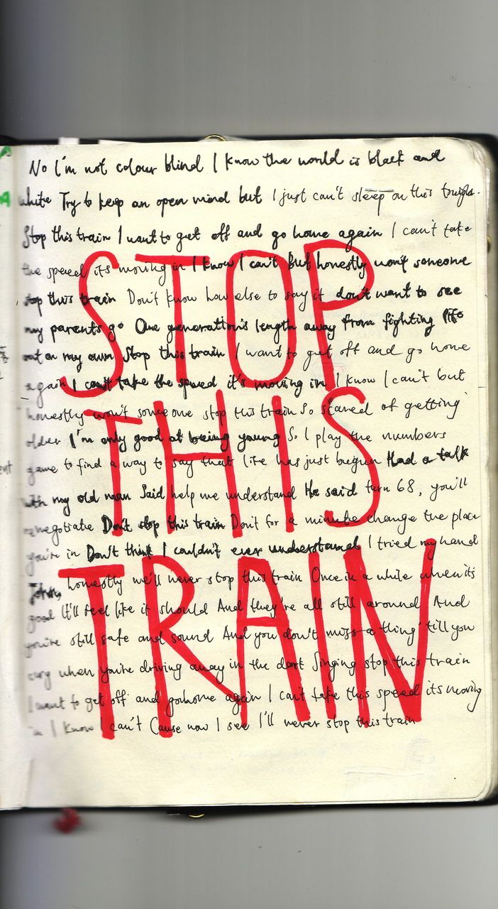 John Mayer - Stop This Train one of my fav songs(: