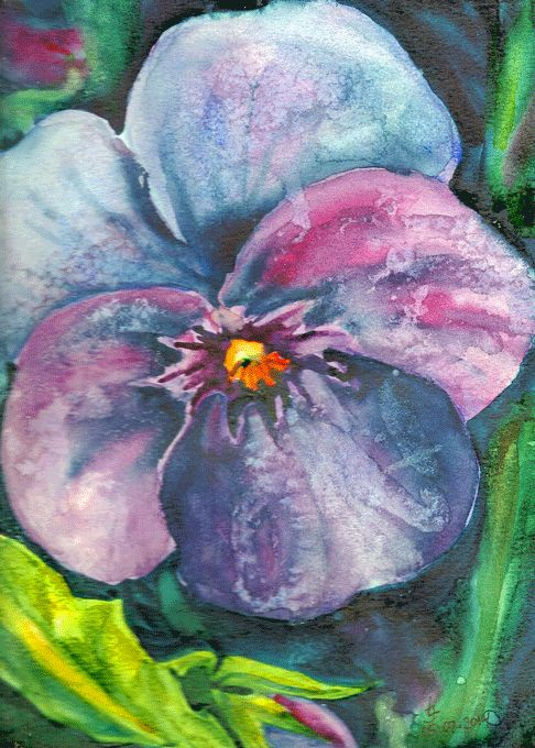"""Watercolor on Canson CP 12""""x 9"""" original by Joanna Lazuchiewicz 2014"""