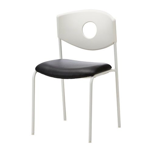 STOLJAN Conference chair, white, black $34.99 The price reflects selected options Article Number: 299.074.45