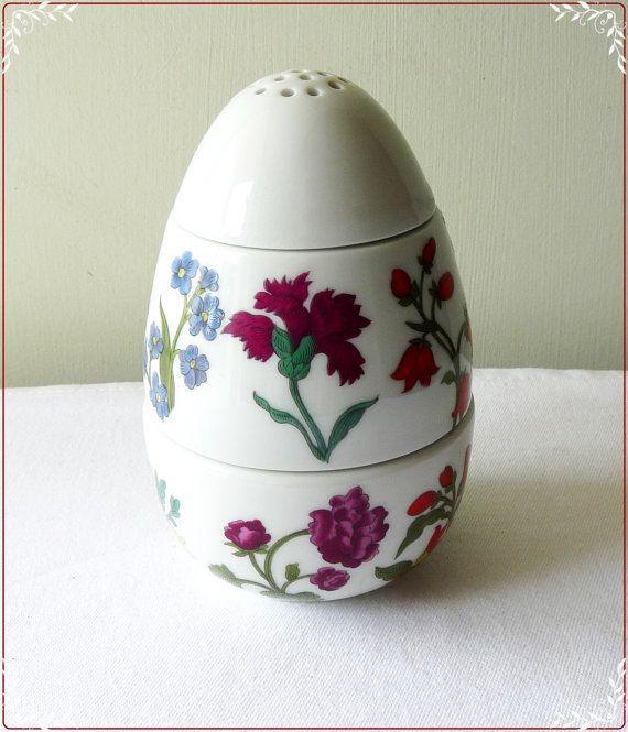 Porcelain Egg Coddler by Porcelaine de Paris of Limoges France