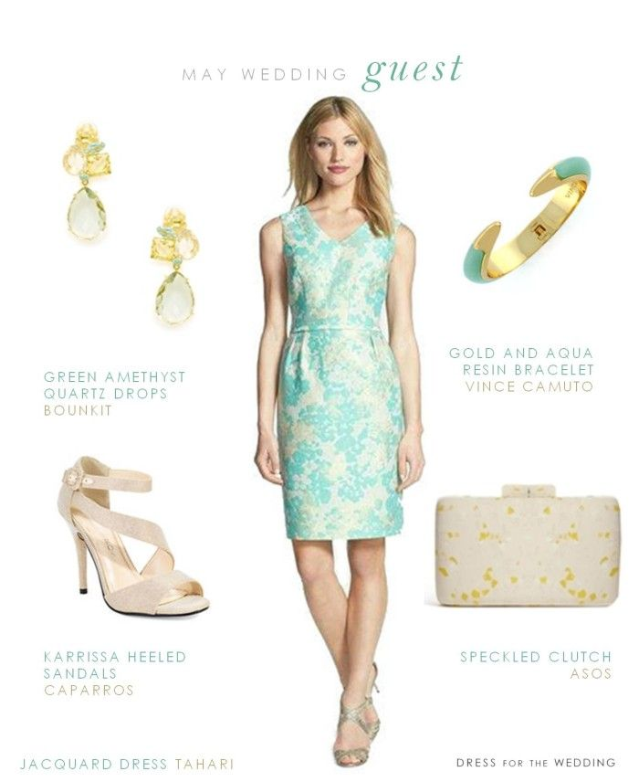 Ideas for what to wear to a May wedding