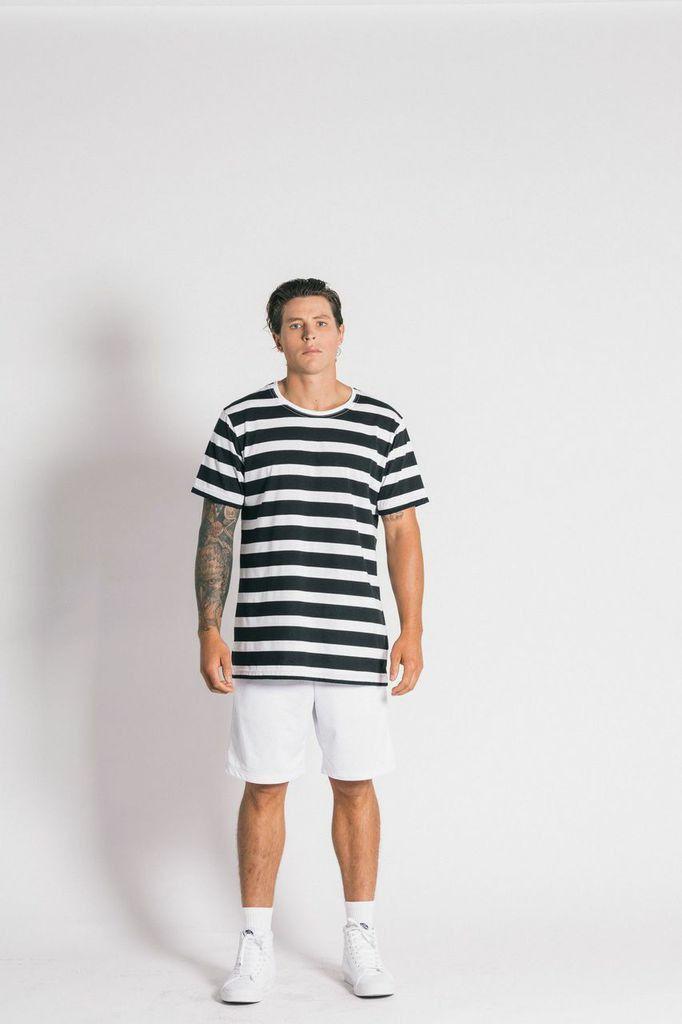 Ystrdaybone - Limited Short Sleeve Stripe T