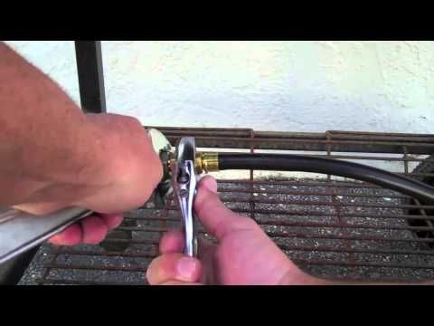 Side Burner Range Added To Weber Gas BBQ Grill. - YouTube