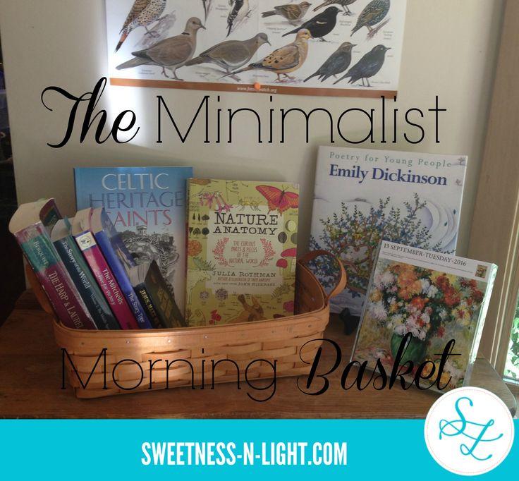 The Minimalist Morning Basket | Sweetness-n-Light via @Cheremere via @cheremere
