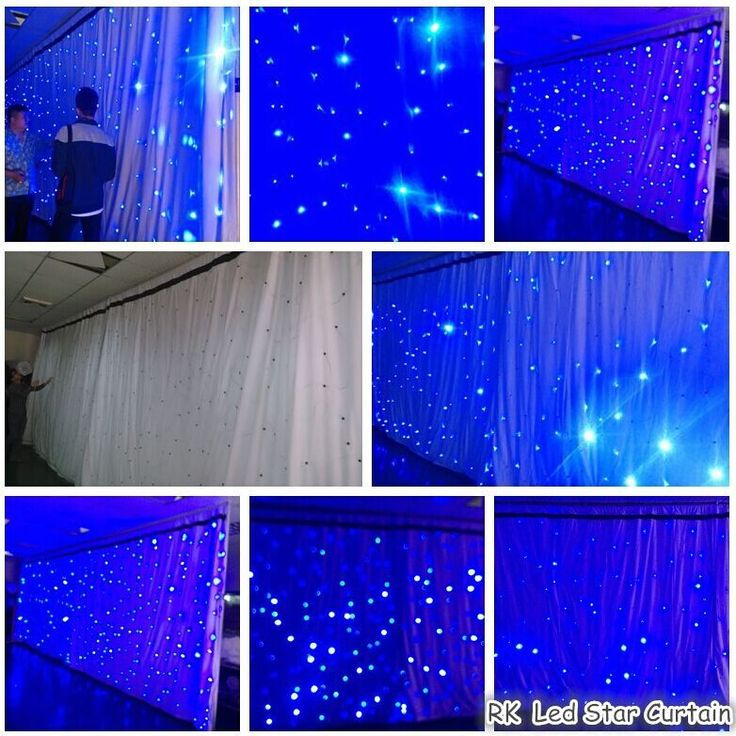 23 Best Star Curtain Lighting Curtain Images On Pinterest