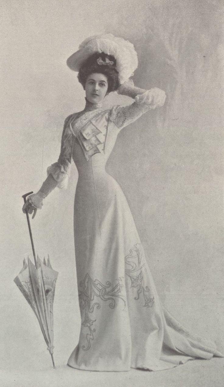 Les Modes : revue mensuelle illustrée des Arts décoratifs appliqués à la femme | 1901-09 | Gallica