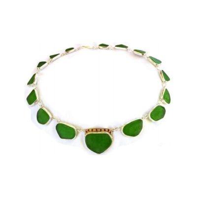 Silver 925, gold k18, green quartz & rubies
