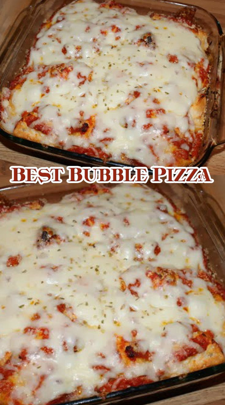 Best Bubble Pizza