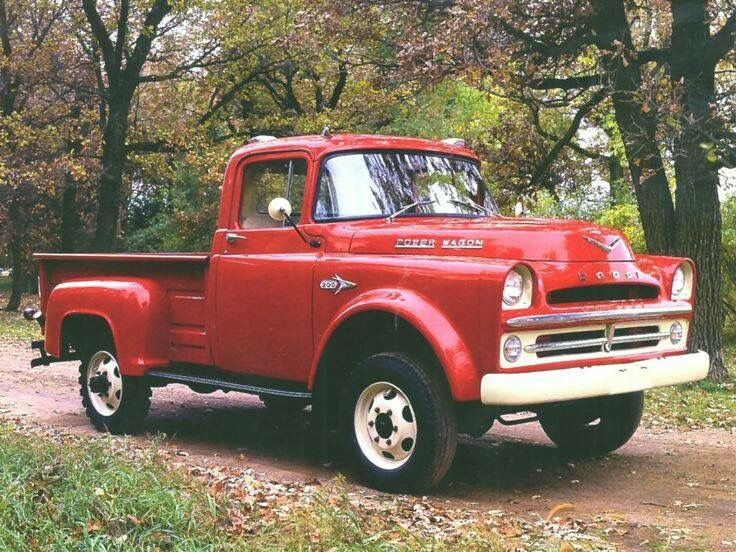Early Dodge Power Wagon