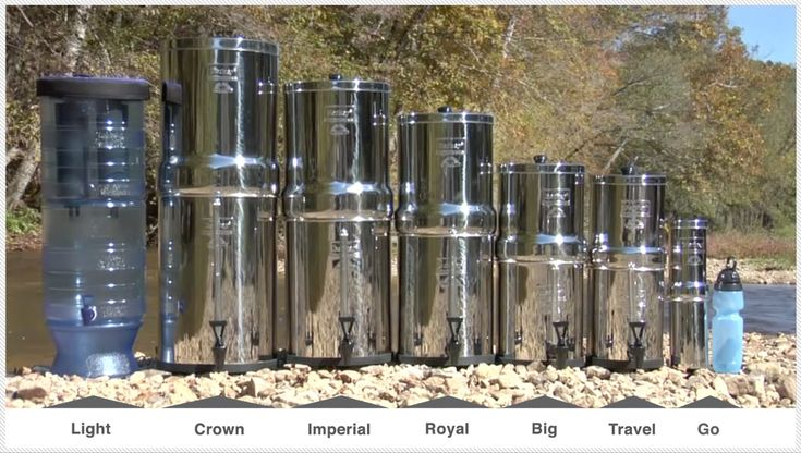 Does the Big Berkey Water Filter REALLY work? I take out my microscope and find out – review and giveaway! | Nourishing Treasures
