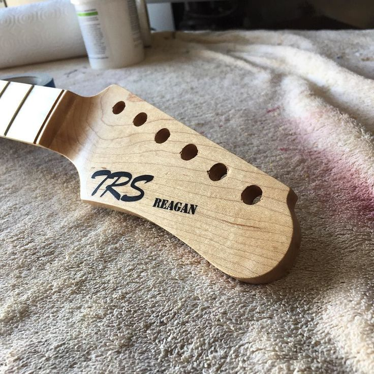 New logo for the Reagans #trs #trsguitars #reagan #guitar #guitarporn #tele #telecaster #fender #pickup #woodwork #luthier #alder #maple de trsguitars