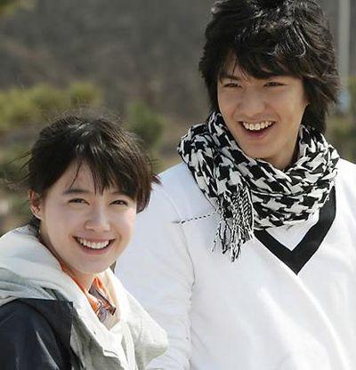"Koo Hye Sun and Lee Min Ho in ""Boys Before Flowers"""