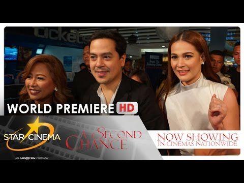 'A Second Chance'   World Premiere   John Lloyd Cruz   Bea Alonzo   Direk Cathy Garcia-Molina - YouTube