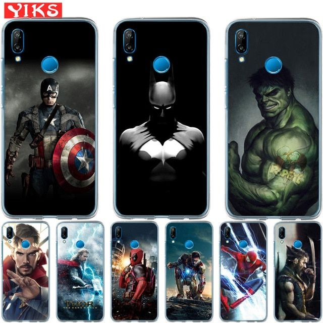 Luxury Marvel Avengers Heroes For Huawei P20 P10 P9 P8 Lite 2017 ...