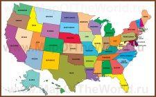 Карты США