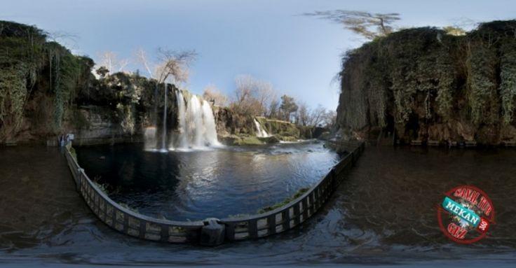 """""""DÜDEN ŞELALESİ"""" Doğanın Kartpostal Güzelliğini Sanal Tur ile 360 Derece Gez! Mekan360 ile heryerden, gezdiğin yeri 360° hisset"""