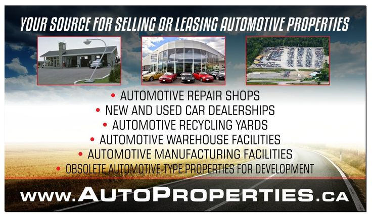 Sign up today for as low as $24.99/month and showcase your Automotive Property to Potential Buyer's & Tenant's