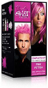 Pink Fetish Splat hair dye :) reminds me of Tonks!!!