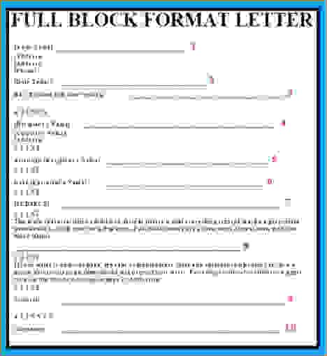 full block style business letterreport template document report letters crafts places diy forward application letter format