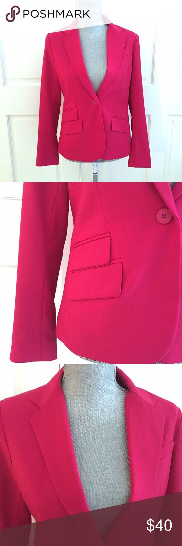 New York & Co. Hot Pink Blazer New York & Co. Hot Pink Blazer. Brand new with tags never worn. New York & Company Jackets & Coats Blazers