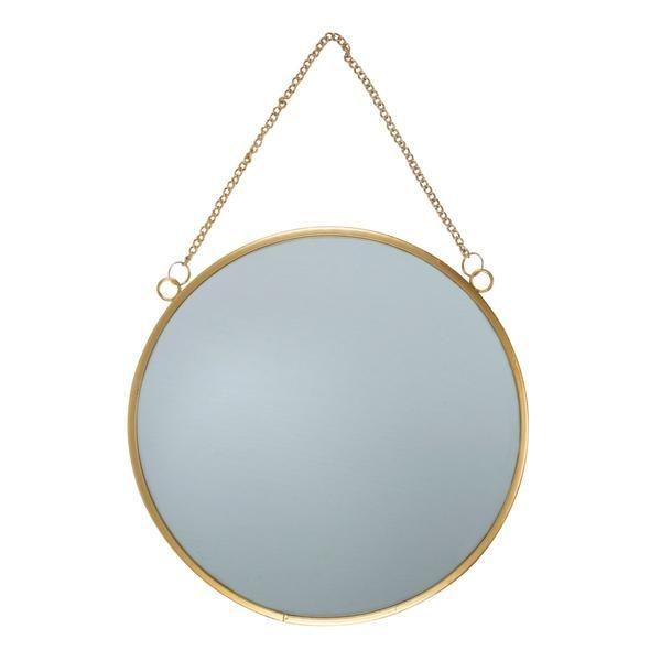 Dimensions - diameter 25cm, depth 0.8 cm Material - Metal, Glass