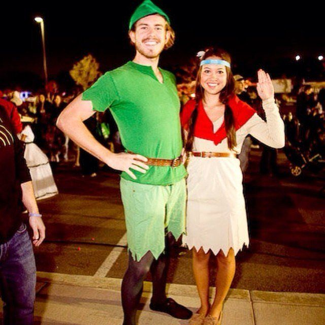 Peter Pan and Tiger Lily vouple costume ides