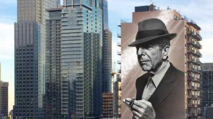 Une première image de ce à quoi pourrait ressembler la murale qui sera créée en l'honneur du défunt chanteur montréalais Leonard Cohen a été dévoilée.
