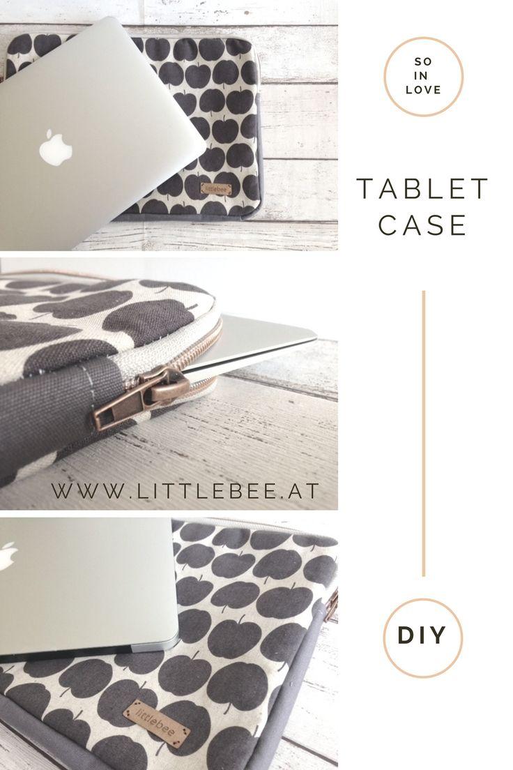 DIY Laptop Hülle