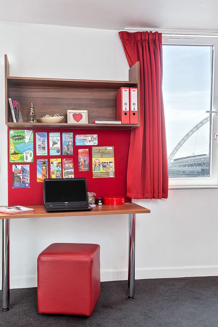 Student rooms at Victoria Hall Wembley
