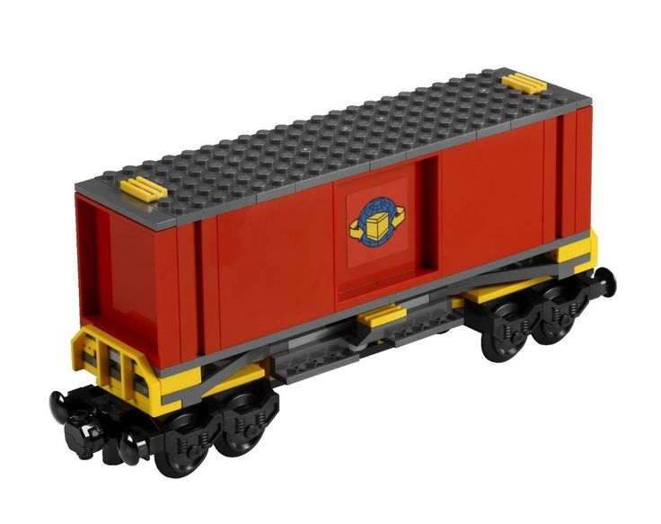 LEGO City 7939 Cargo Train Red Container Boxcar NEW #LEGO