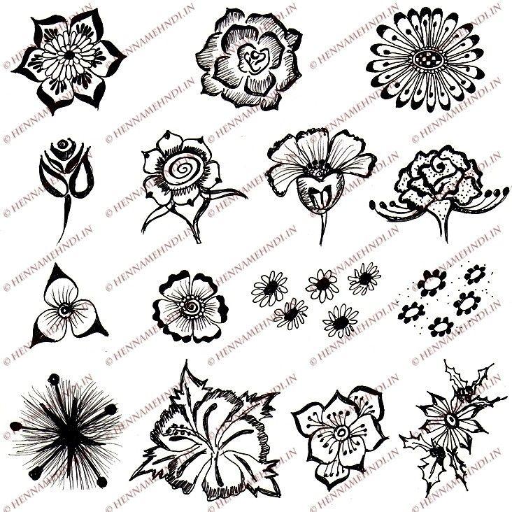 en iyi 17 fikir, easy henna patterns pinterest'te | kına tasarımları
