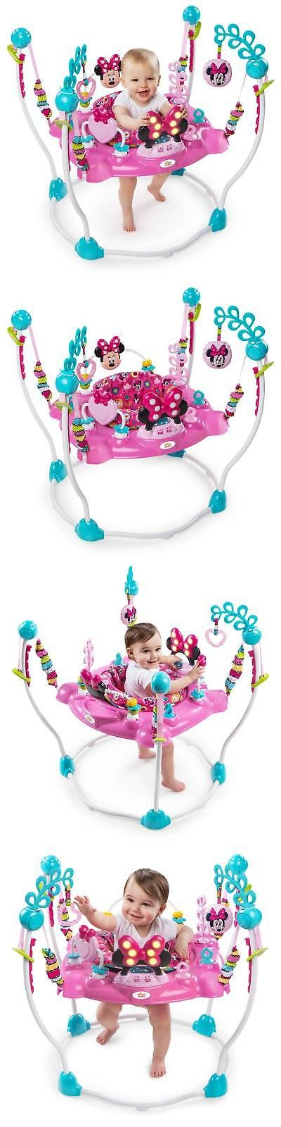Baby Jumping Exercisers 117032: Disney Baby Minnie Mouse Peekaboo Activity Jumper -> BUY IT NOW ONLY: $87.99 on eBay!