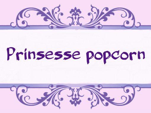 Bursdag - Prinsessepopcorn   Idebank for småbarnsforeldreIdebank for småbarnsforeldre
