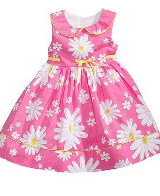 Nannette Kids Dress, Little Girls Daisy Print Dress - Kids Girls 2-6X - Macy's