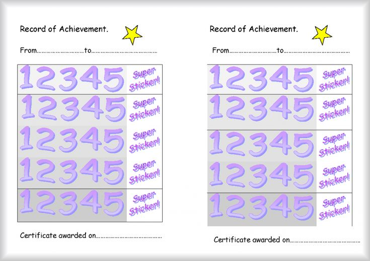 102 best printable reward charts template images on