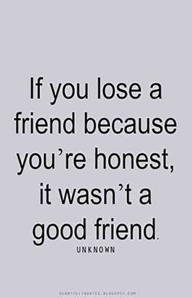 Quotes About Losing A Friendship