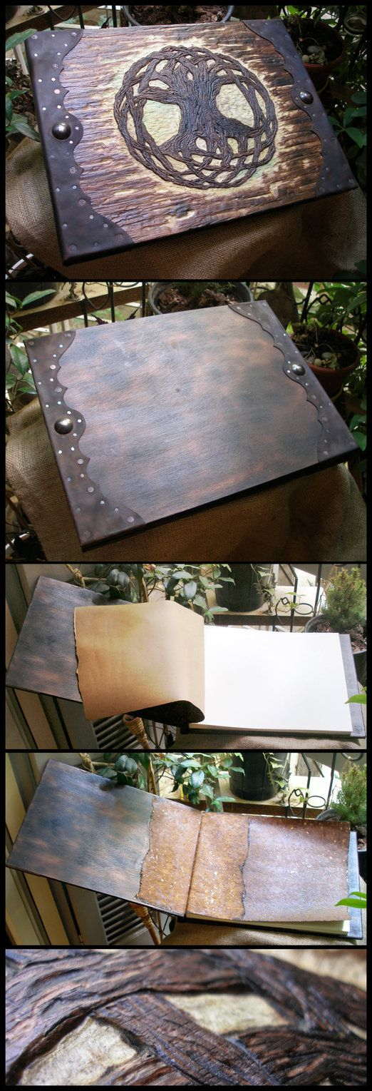 Tree of Life photo album by morgenland on DeviantART.  Would make an interesting wedding album or guest book