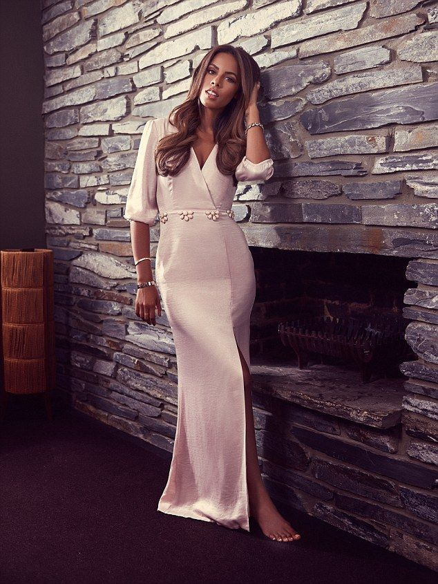 Xtra Factor presenter and pop star Rochelle Humes is ethereal as she models her latest ran...
