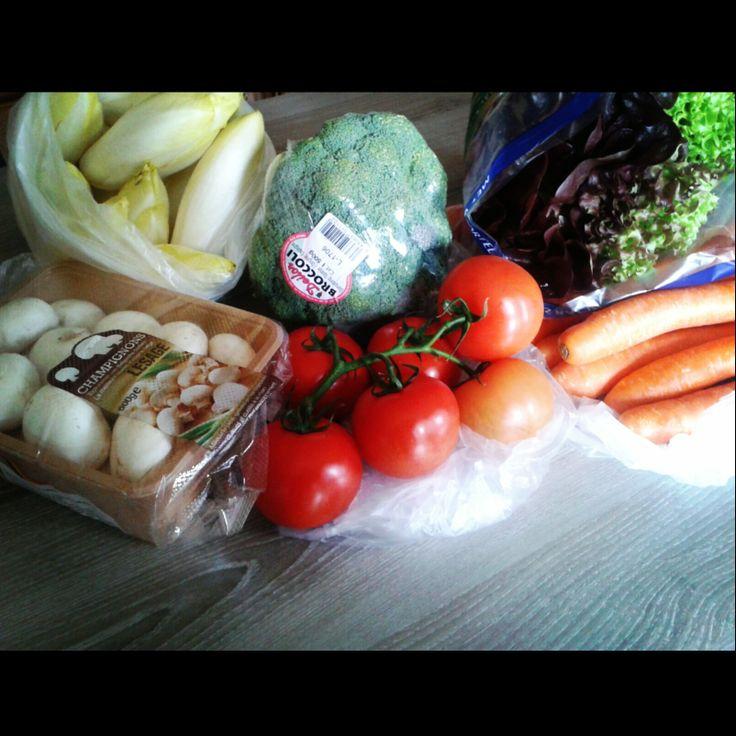 Een variatie aan groenten is erg belangrijk om al de delen van het lichaam gezond te houden!