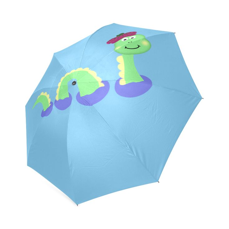 Loch Ness Monster Foldable Umbrella