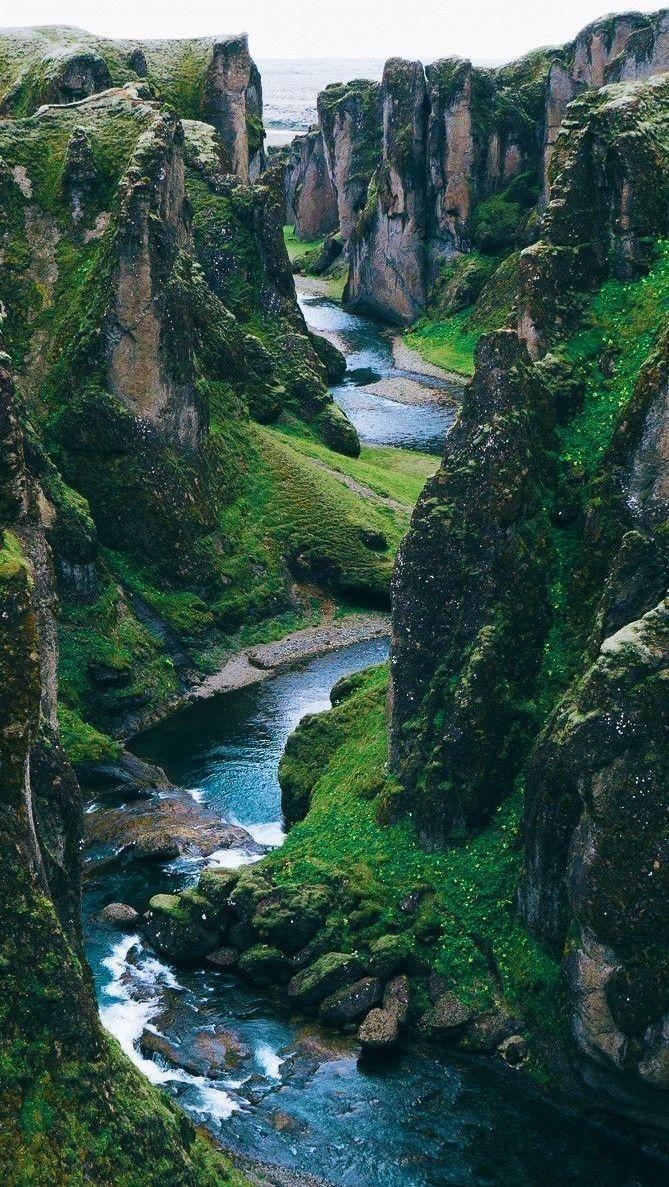Wanderlust – Today we're dreaming of mezmerizing Iceland and Fjaðrárgljúf…