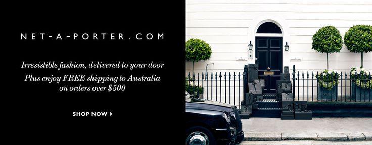 net-a-porter.com Web banner ad