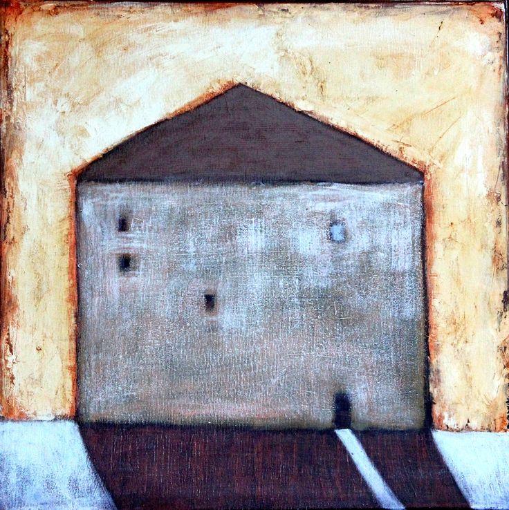 Dark House. Nika Jaworowska #art #illustration #booksforchildren #house #night