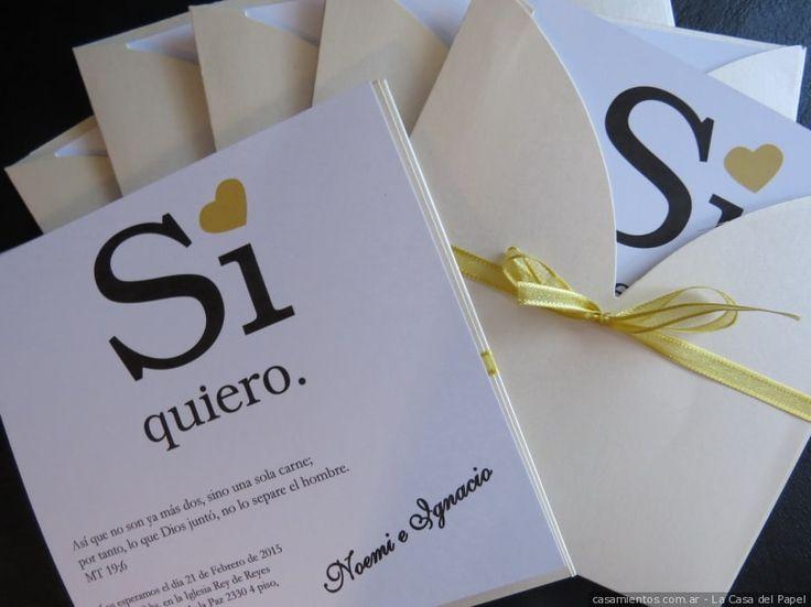Una de las primeras cosas que tienen que hacer es encontrar la invitación de casamiento perfecta. Les contamos cómo conseguir la mejor carta de presentación de su gran día.