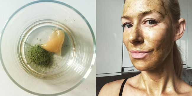 DIY: Raw honey and matcha green tea facial