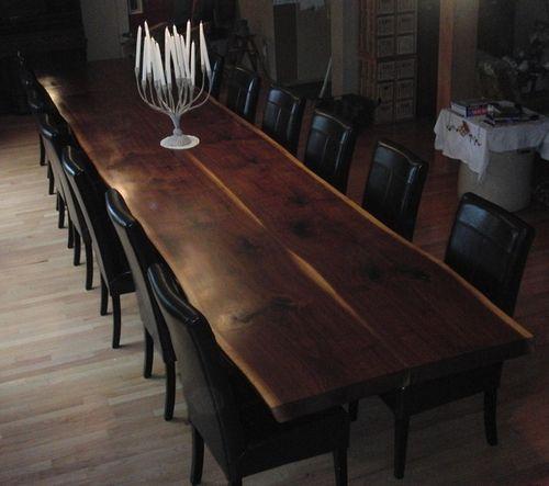Figured Black Walnut Lumber, Live Edge Furniture, Spalted Maple Slabs, Gunstock Blanks, Bookmatched Dining Table Top Sets, Bar Countertops, ...
