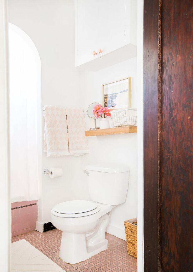Bright Hy Pink Bathroom