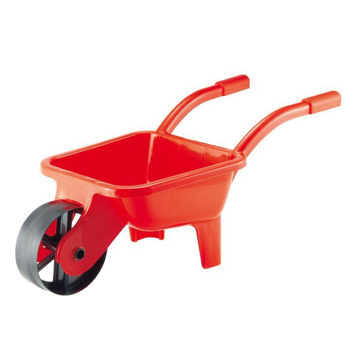 Het Franse merk Ecoiffier heeft een breed assortiment speelgoed voor in de keuken, tuin, huishouden en voor op het strand! Kinderen kunnen met het speelgoed van Ecoiffier spelenderwijs kennismaken met het dagelijks leven.Afmeting:66 x 28 x 28 cm - Ecoiffier Kruiwagen Rood