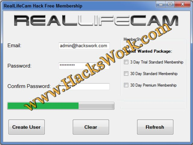 reallifecam username password
